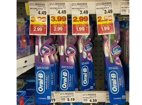 oral-b toothbrushes Kroger
