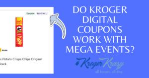 Kroger Digital Coupons Mega