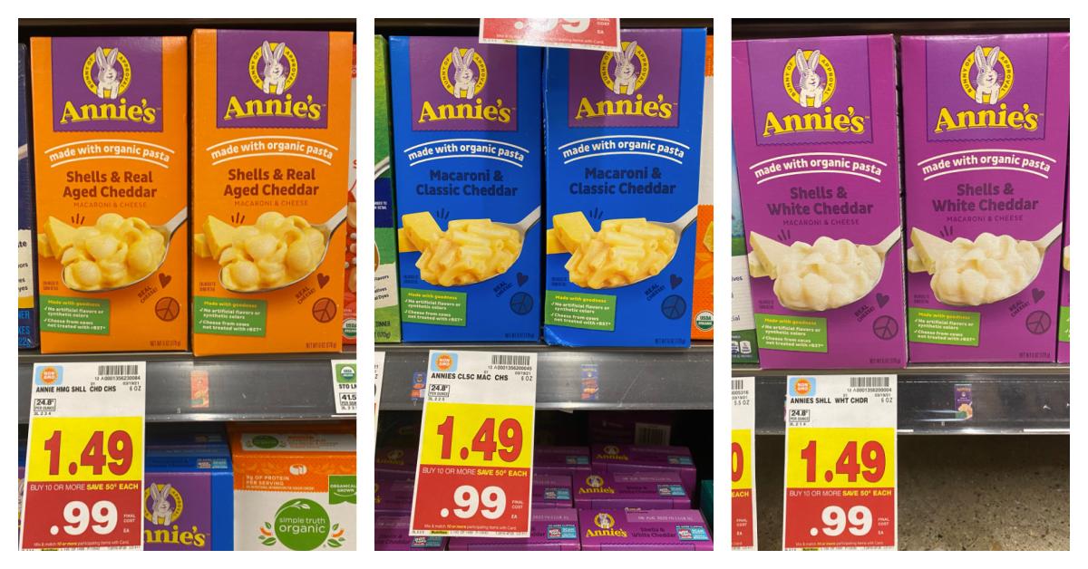 Annie's Mac & Cheese Kroger