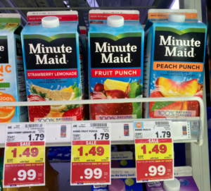 Minute Maid Drinks Kroger
