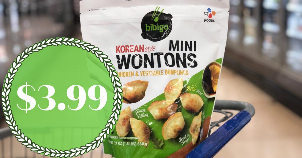 Bibigo wontons