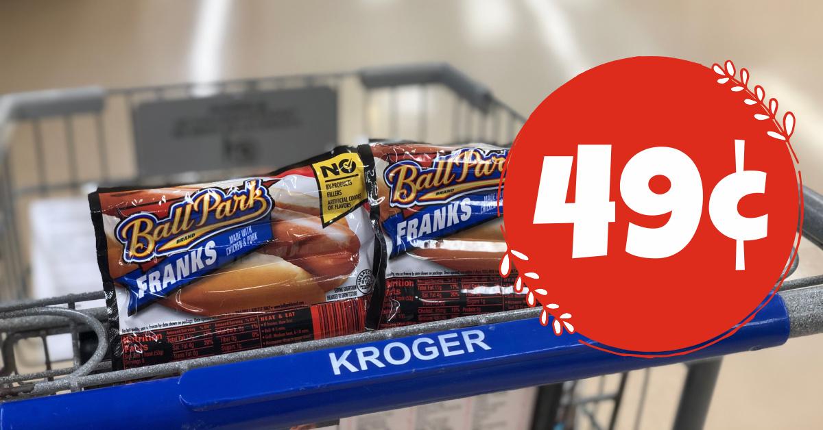 Ball Park Hot Dogs Kroger Krazy