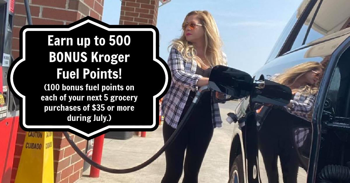 Kroger Bonus Fuel Points Kroger Krazy