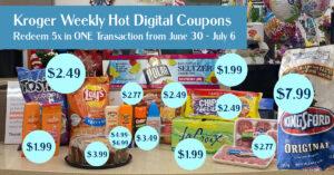 Kroger Weekly Digital Coupons