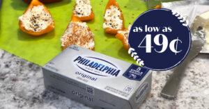 philadelphia cream cheese Kroger Krazy