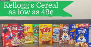 Kellogg's Cereal Kroger Krazy