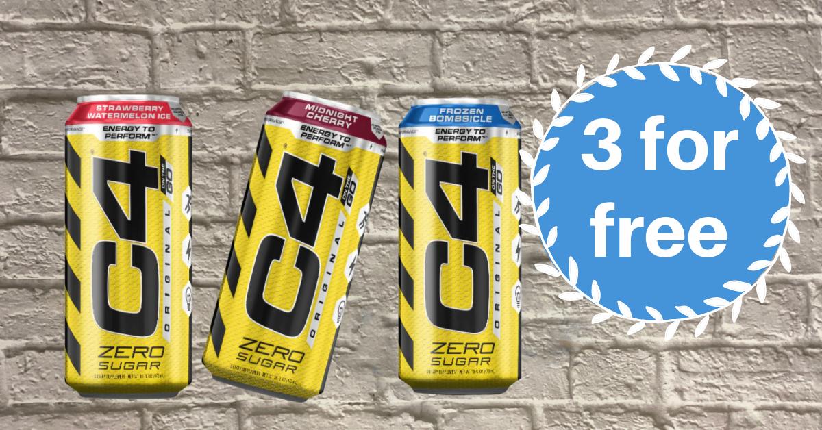 C4 Energy Drinks Kroger Krazy
