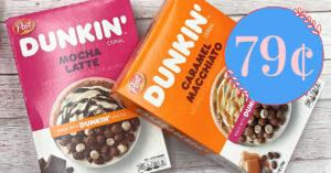Post Dunkin Cereals Kroger Krazy