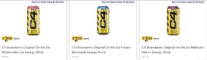 C4 Energy Drinks Kroger