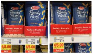 barilla ready pasta kroger