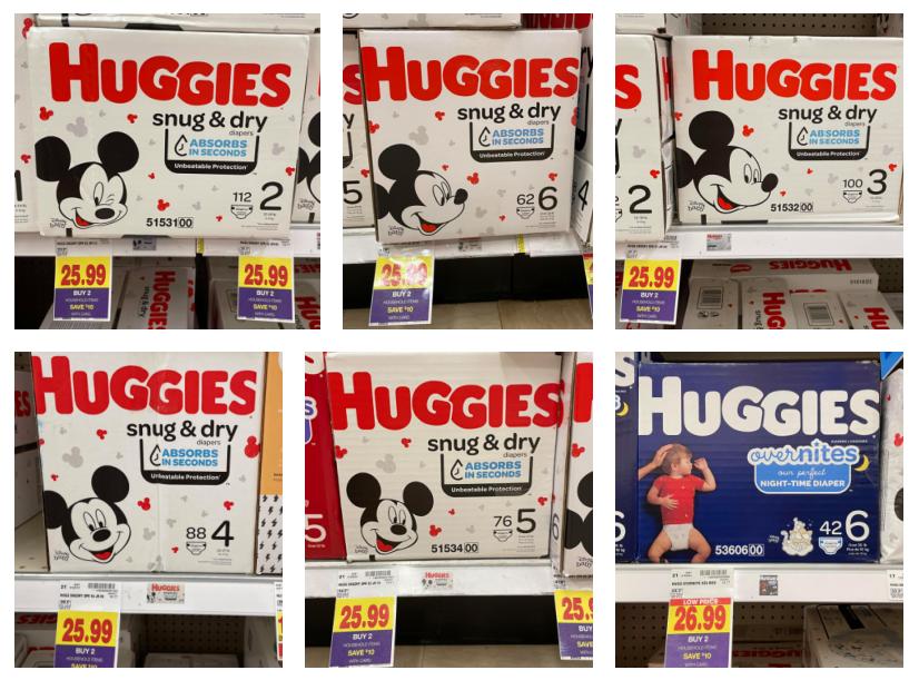 Huggies Snug & Dry Kroger