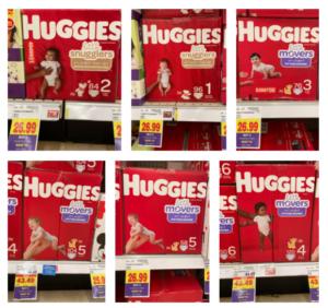 Huggies Little Snugglers Movers Kroger