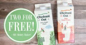 Chobani Oatmilk Kroger Krazy