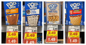 Kellogg's Pop-Tarts Kroger