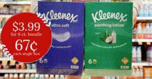 Kleenex Tissue Bundle Kroger Krazy