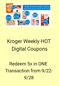 Kroger Weekly Digitals Kroger Krazy